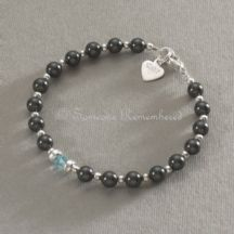 Made in Memory Birthstone Bracelet